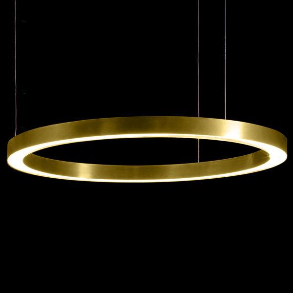 Henge Light Ring Horizontal D100 Brass