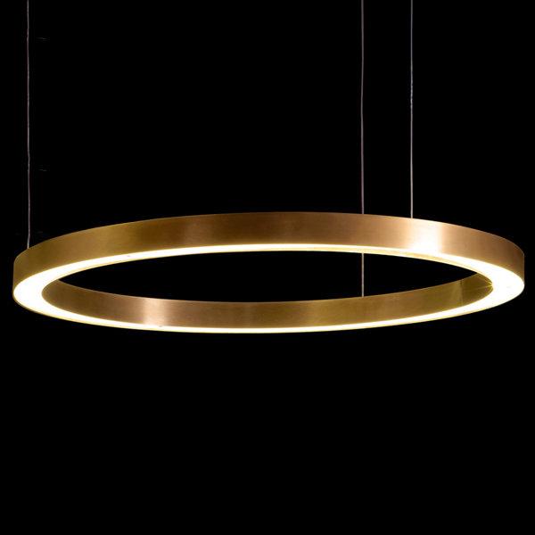 Henge Light Ring Horizontal D100 Copper