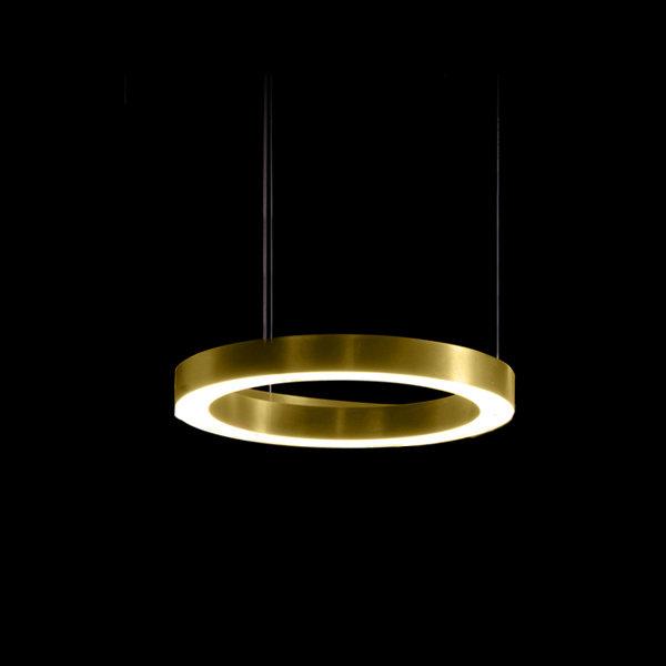 Henge Light Ring Horizontal D40 Brass
