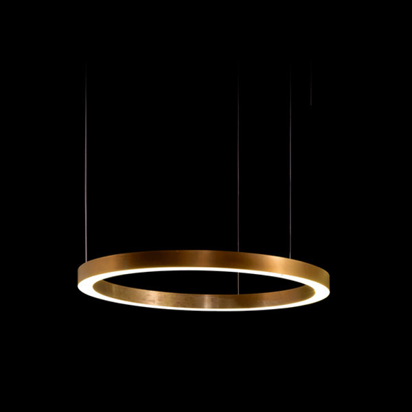 Henge Light Ring Horizontal D50 Copper