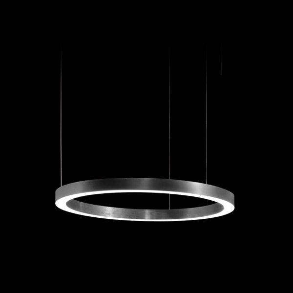 Henge Light Ring Horizontal D50 Nickel