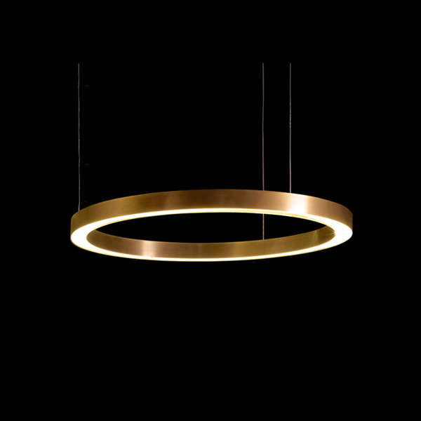 Henge Light Ring Horizontal D60 Copper