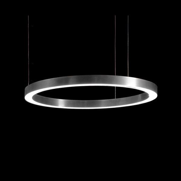 Henge Light Ring Horizontal D70 Nickel