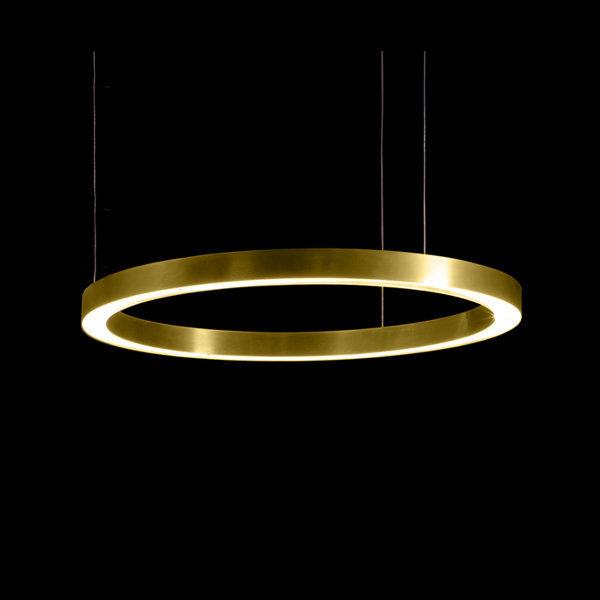 Henge Light Ring Horizontal D80 Brass