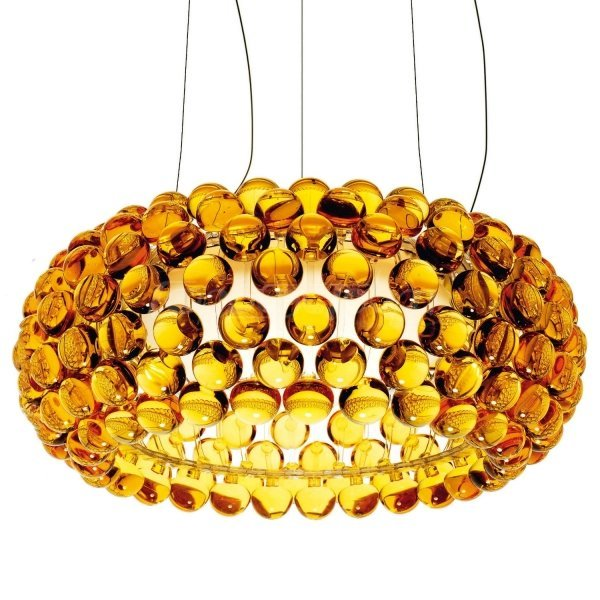 Люстра подвесная Foscarini Caboche Gold D50 (1)