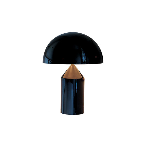 Настольная лампа Atollo Black D25 (1)