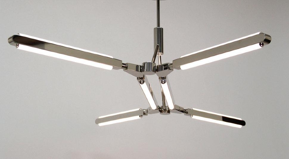 Светильник настенно-потолочный Pris Minor Chrome (1)