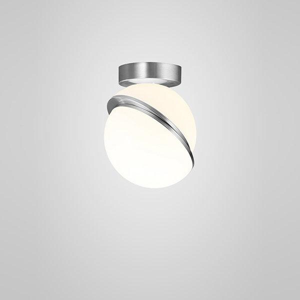 Crescent Ceiling Light Chrome