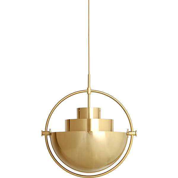 Gubi Multi-lite Pendant Gold (1)