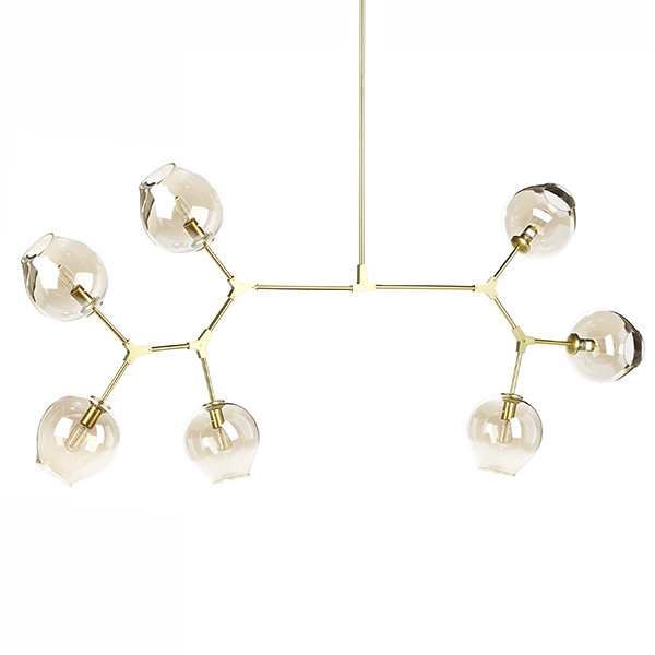 Люстра Branching Bubbles 7 Long Gold (1)