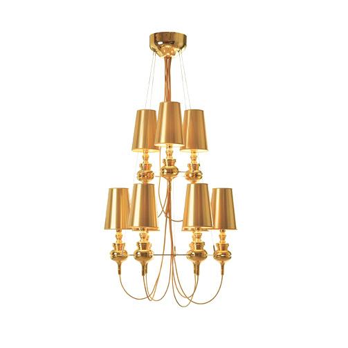 Люстра Josephine Queen 9 Gold (1)