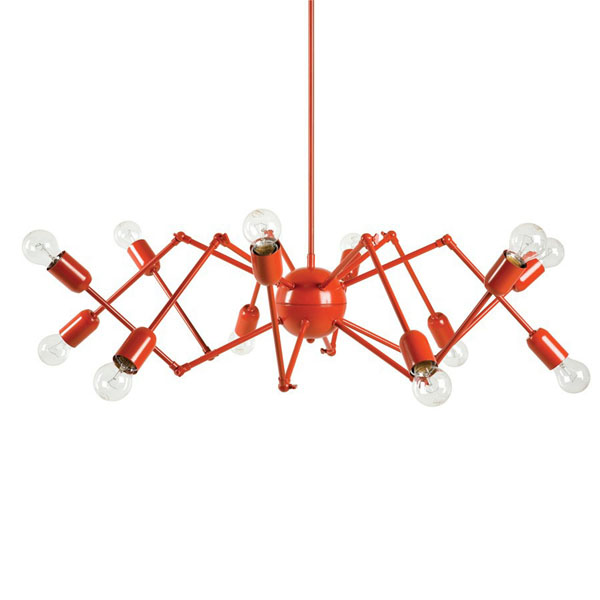 Люстра Loft Double Octopus Chandelier Red