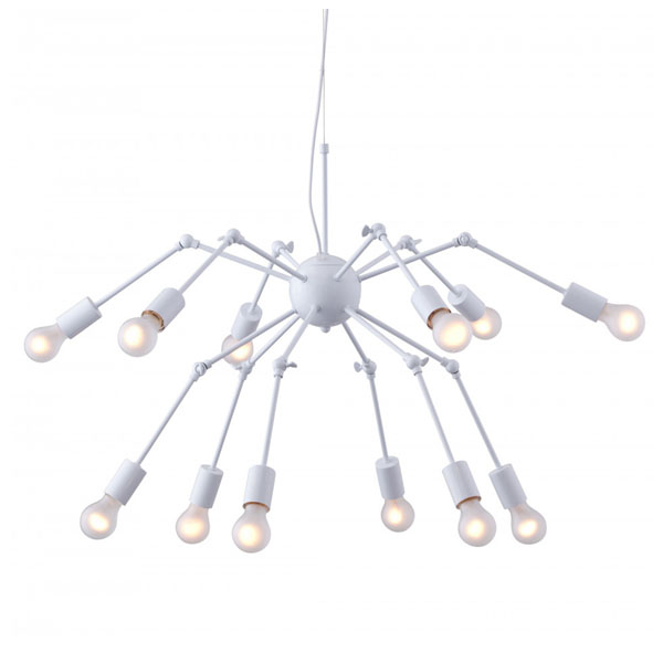 Люстра Loft Double Octopus Chandelier White