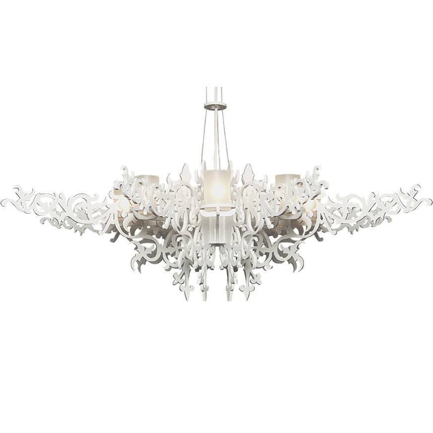 Люстра Mansion Chandelier White 160