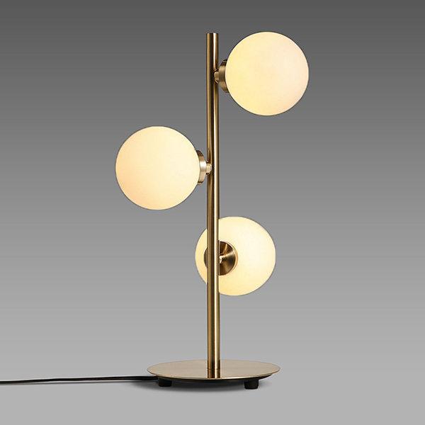 Настольная лампа Bubble Stik Gold (1)