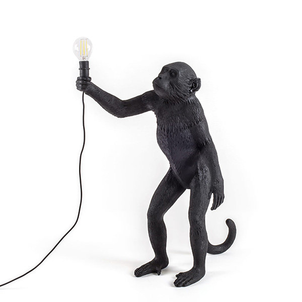 Seletti Monkey Black Floor Lamp Торшер (1)