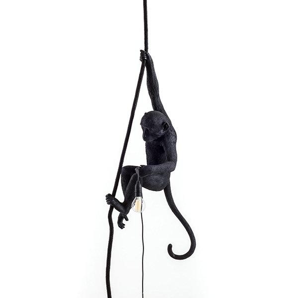 Seletti Monkey Black Lamp Ceiling Светильник (1)