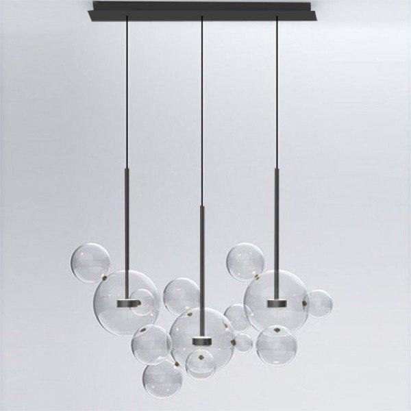 Светильник Bolle Linear 14 Bubbles Black (1)