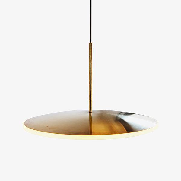 Светильник Chrona D40 Gold Horizontal (1)