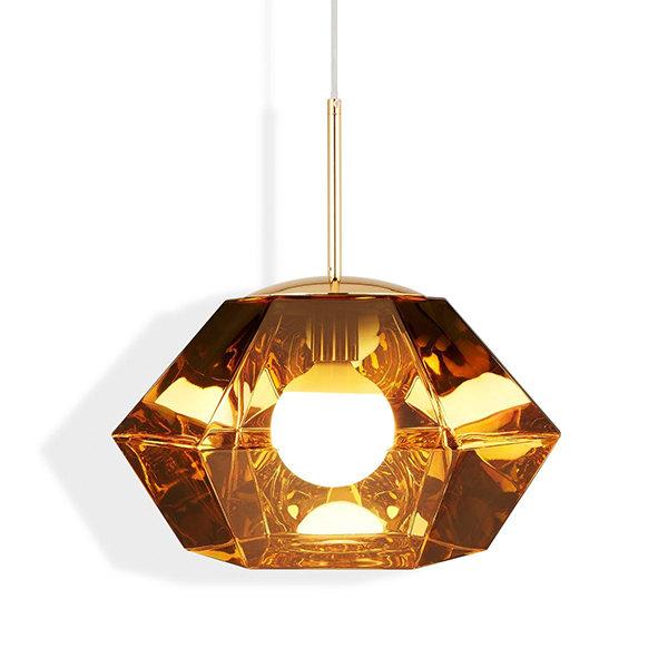 Светильник Cut Short Pendant Gold (1)