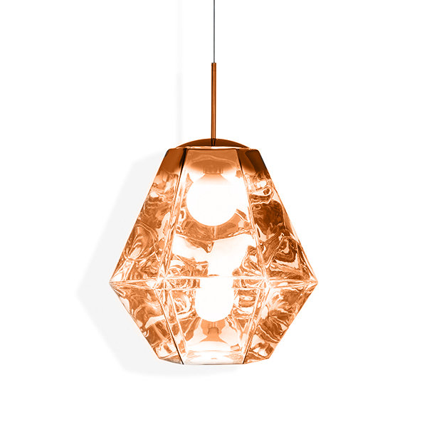 Светильник Cut Tall Pendant Copper (1)