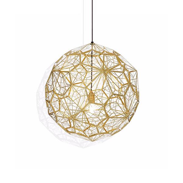 Светильник Etch Web Gold D70 (1)