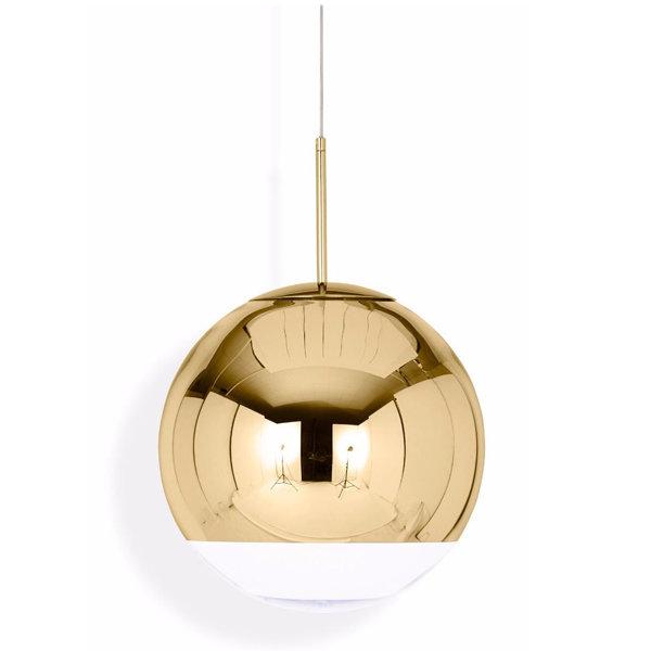 Светильник Mirror Ball Gold D25 (1)