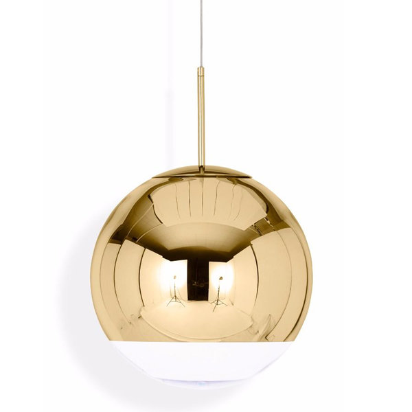 Светильник Mirror Ball Gold D30 (1)