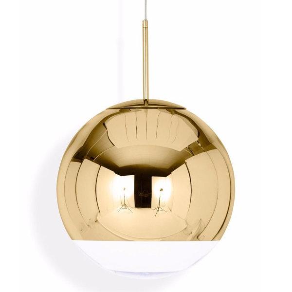 Светильник Mirror Ball Gold D35 (1)
