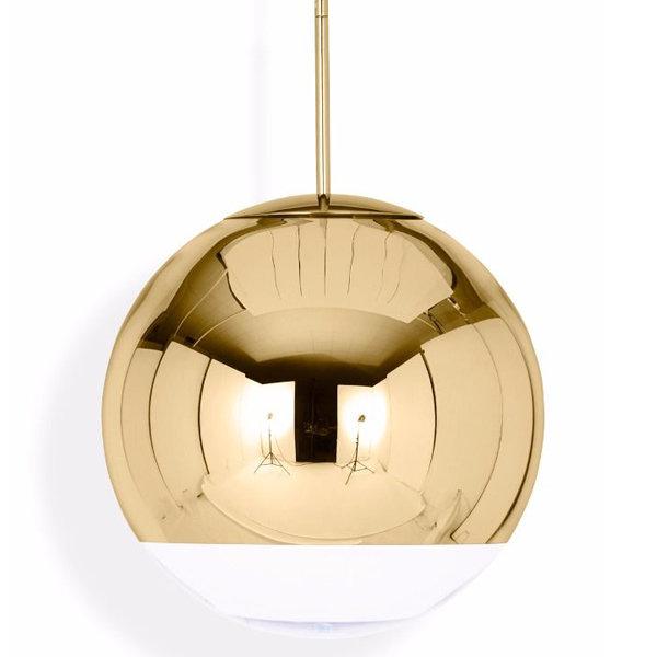 Светильник Mirror Ball Gold D40 (1)