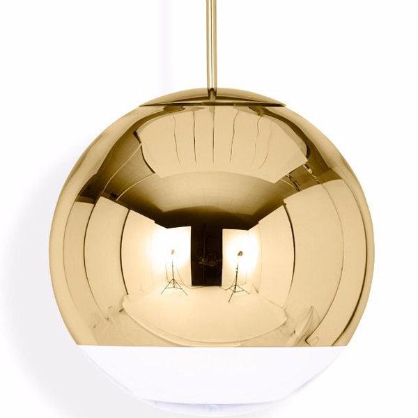 Светильник Mirror Ball Gold D50 (1)