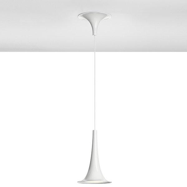 Светильник подвесной Axo Light Nafir 1 White (1)