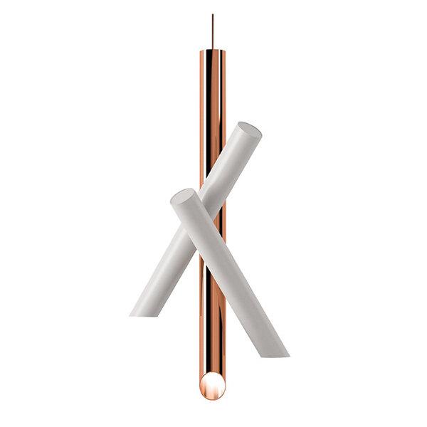 Светильник Tubes 3 White-Copper by Nemo