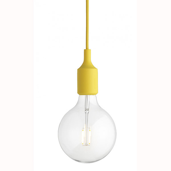 Светильник Muuto E27 Color Yellow