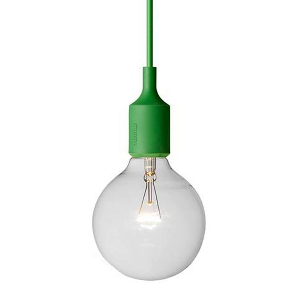 Светильник Muuto E27 Color Green