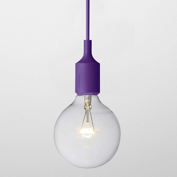 Светильник Muuto E27 Color Violet