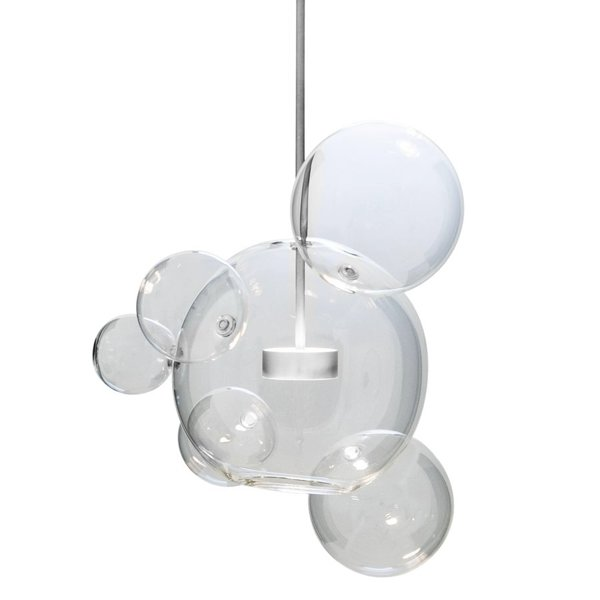 Светильник Bolle 06 Bubbles Nickel by Giapato & Coombes