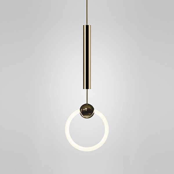 Светильник Ring Light Gold by Lee Broom D20