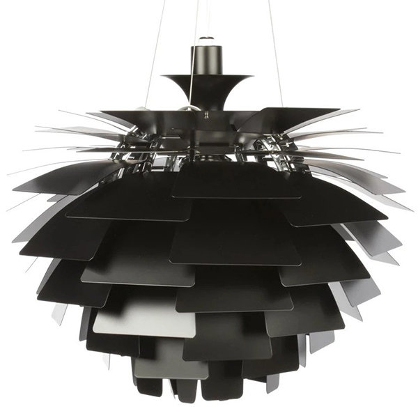 Люстра PH Artichoke Black D80 by Poul Henningsen in 1958