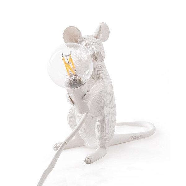 Seletti Mouse Lamp #2 H12 Настольная Лампа Мышь