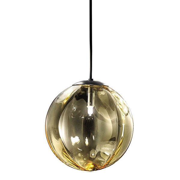 Светильник Puppet G Amber Pendant Light D28