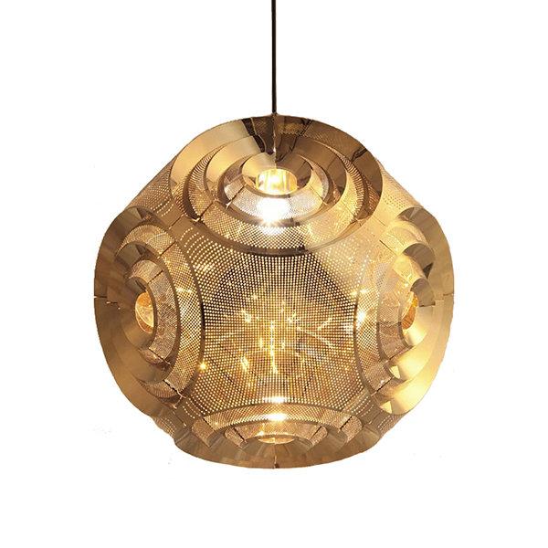 Curve Ball Gold D38 by Tom Dixon светильник подвесной
