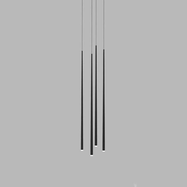 Vibia Slim 4 Black Round Mini by Jordi Vilardell