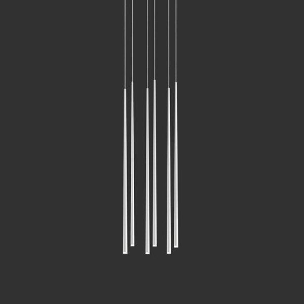 Vibia Slim 6 White Rectangle Mini by Jordi Vilardell
