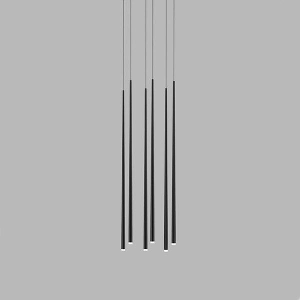 Vibia Slim 6 Black Rectangle Mini by Jordi Vilardell