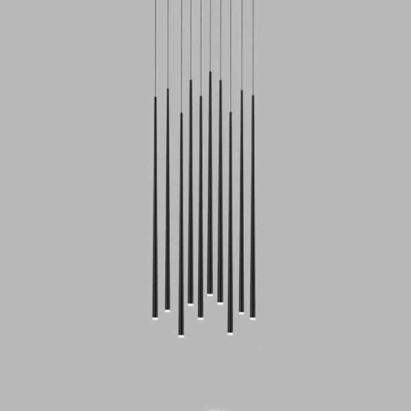 Vibia Slim 10 Black Round Mini by Jordi Vilardell