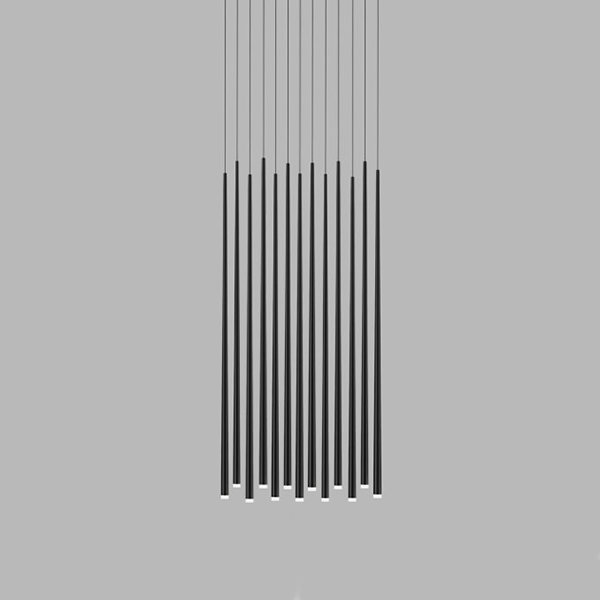 Vibia Slim 13 Black Rectangle Mini by Jordi Vilardell