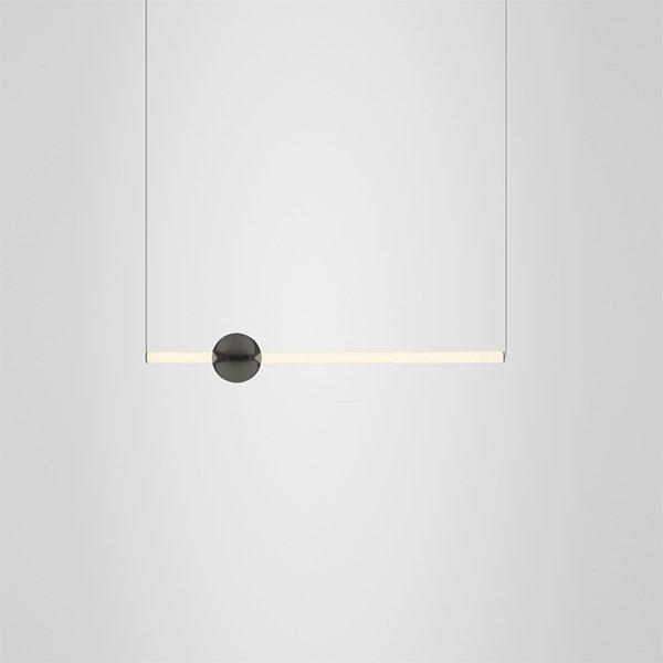 Orion Tube Light Black by Lee Broom