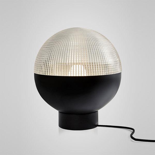 Lens Flair Table Lamp by Lee Broоm Black