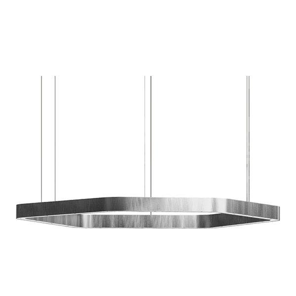 Henge Light Ring Horizontal Polygonal D90 Nickel